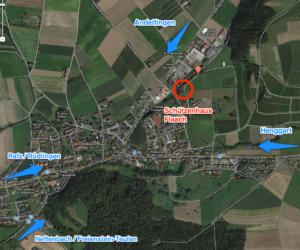 Anfahrtsplan Schützenhaus